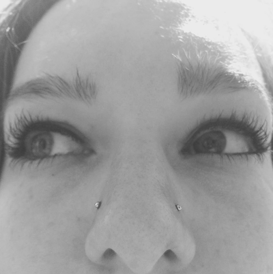 perçage, percing, nose percing, perçage nez