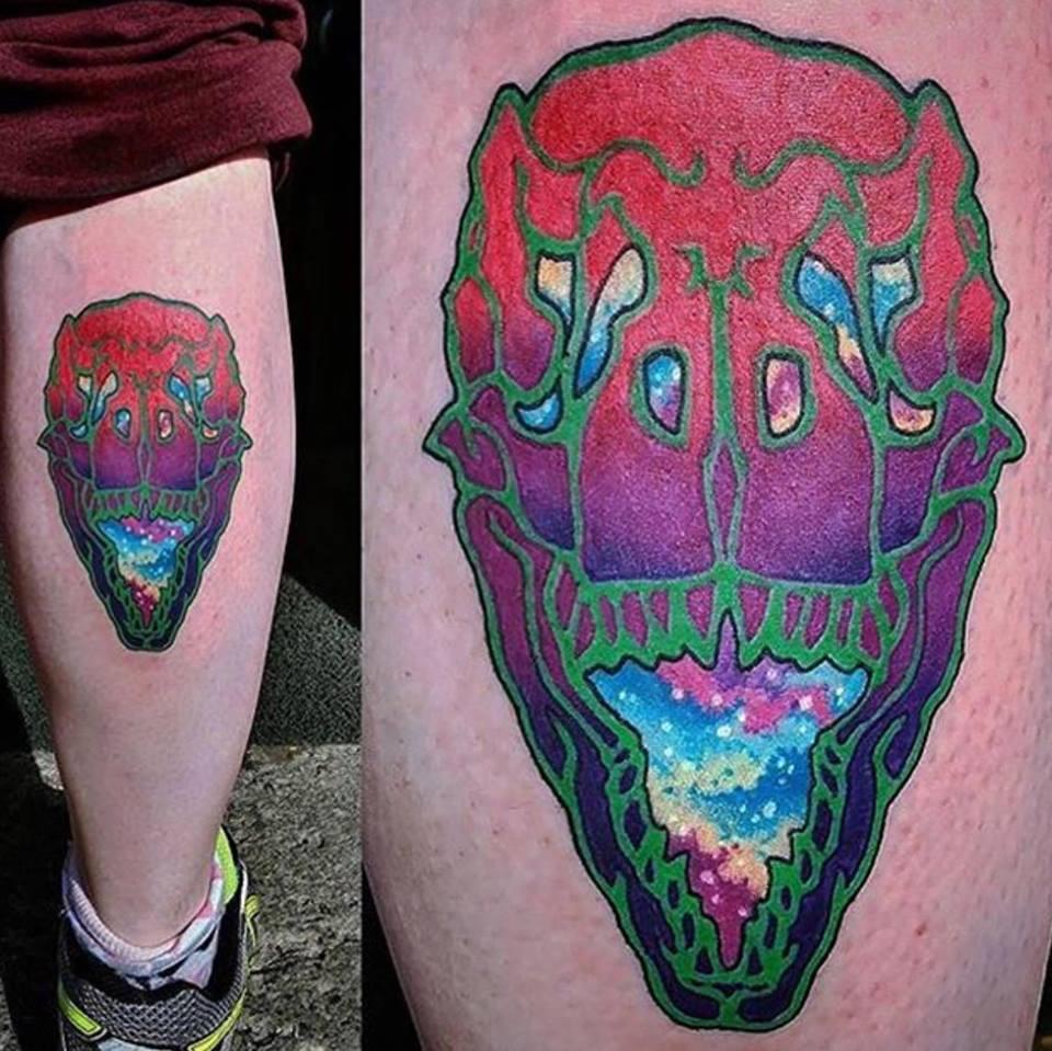 tattoo, tatouage, psychedelic art, studio tentation, montréal