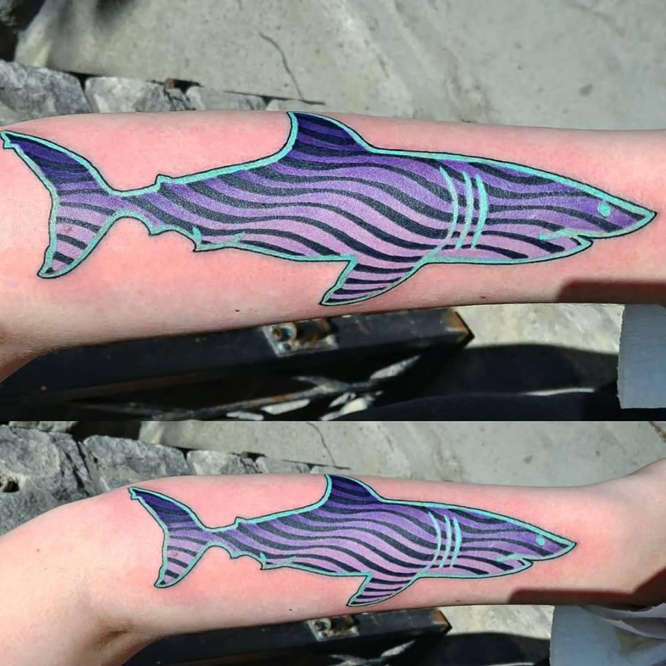 tattoo, tatouage, studio tentation, montreal tattoo, tattoo artist, color tattoo, psychedelic art